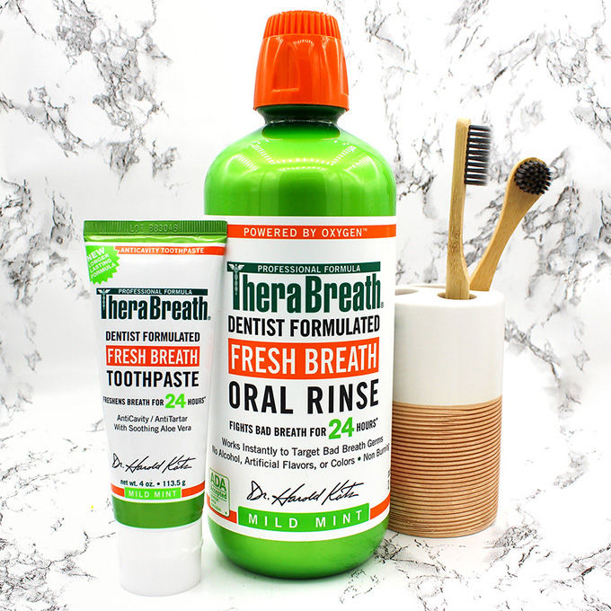 TheraBreath Basics Kit with toothbrush
